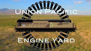 Union Pacific Locomotive storage Arizona