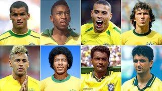 Top 8 Goalscorers • Brazilian Team