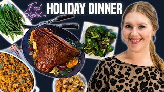 Food Stylist Shows How to Make Your Christmas and Thanksgiving Dinner Look Good | Food Styling Tips