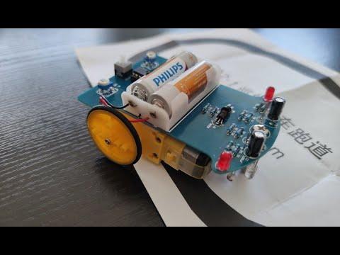 #133 - Πώς λειτουργεί ένα Line tracking car