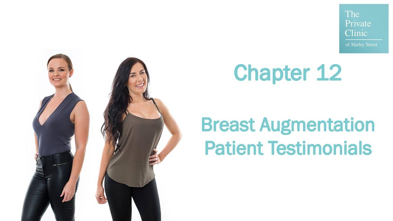 Breast implant testimonials