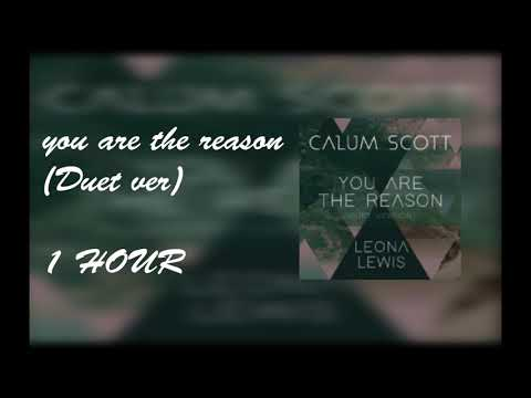 Calum Scott, Leona Lewis -  You Are The Reason (Duet Version) [ 1 HOUR ]