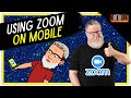 Zoom on your iPhone, iPad or other Mobile Tutorial