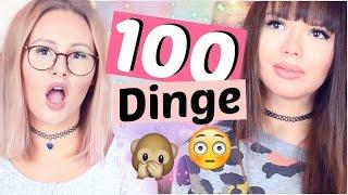 100 DINGE die ihr immer über uns wissen wolltet 🙊 | ViktoriaSarina