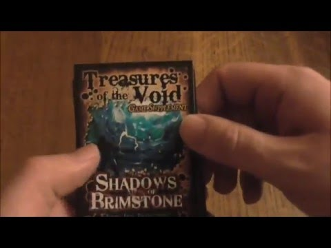 Shadows of Brimstone: Treasures of the Void Game Supplement