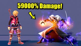 How Sephiroth Can Deal Over 59000% Damage in One Move in Smash Bros. Ultimate