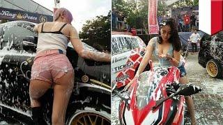 Video Car wash hot di kontes otomotif Sulawesi Selatan dibubarkan - TomoNews download MP3, 3GP, MP4, WEBM, AVI, FLV November 2017