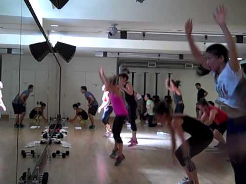 45 minute high intensity total body cardio and strength