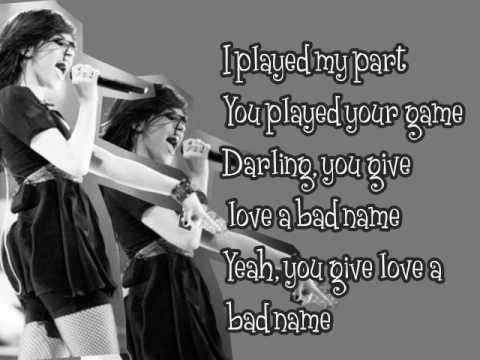 Bon Jovi – You Give Love A Bad Name Lyrics | Genius Lyrics