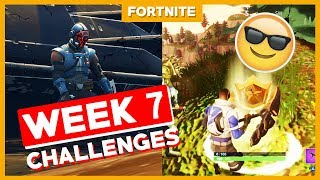 ALLE WEEK 7 CHALLENGES + BLOCKBUSTER! - Fortnite