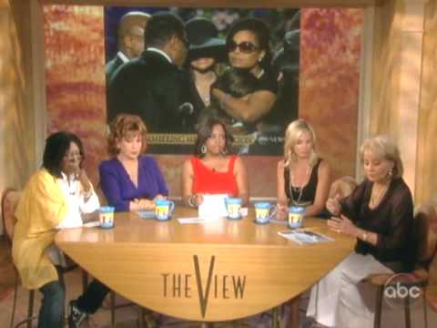 """""""The View"""": Barbara Walters Talks about Michael Jackson Memorial"""