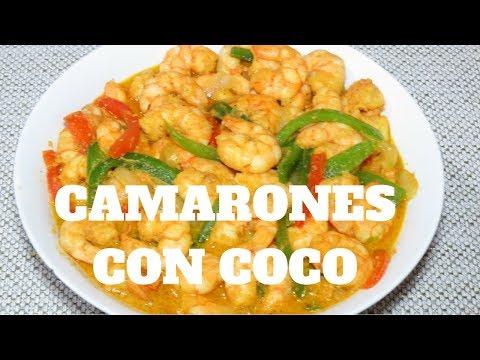 camarones-con-leche-de-coco-😋❤️