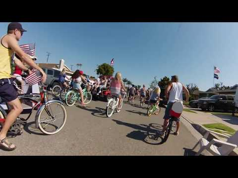 4th of July Bike Parade - West Garden Grove, Eastgate Neighborhood
