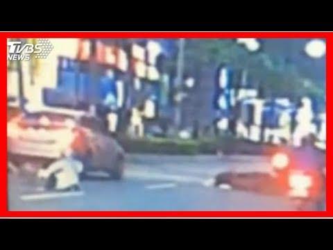 違規橫跨安全島! 男疑遭2車追撞喪命