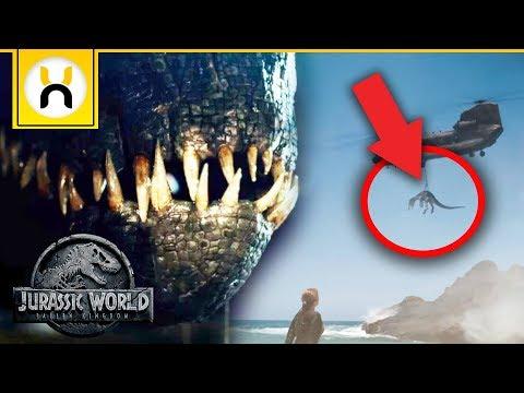 Download Youtube: Jurassic World Fallen Kingdom Official Trailer 2 BREAKDOWN
