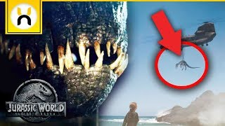 Jurassic World Fallen Kingdom Official Trailer 2 BREAKDOWN