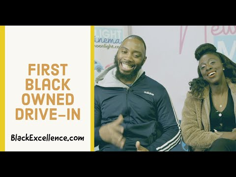 This Coupled Opened First Black Owned Drive-in