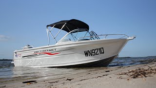 Quintrex Fishabout 490 Review with 75HP E-tec