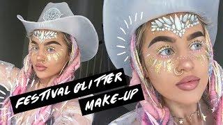 Festival Glitter Make-up Tutorial!
