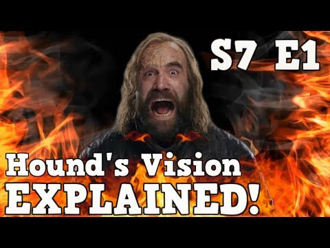 Game of Thrones Season 7 Episode 1 | The Hounds Vision | What did he really see?