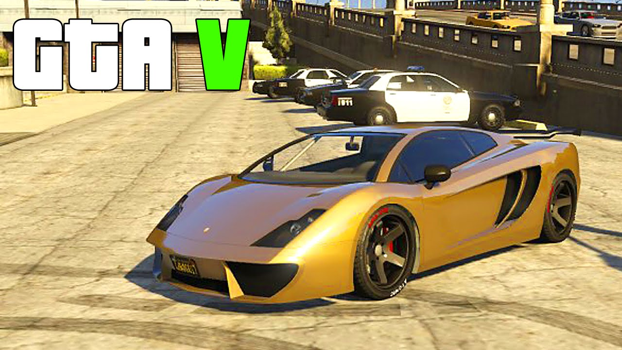 Grand Theft Auto V Customizing Pegassi Vacca Lamborghini Gallardo