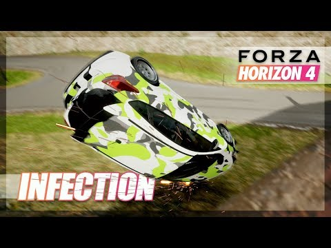 """Forza Horizon 4 - """"How I Rolled my RS"""" Not Clickbait! thumbnail"""