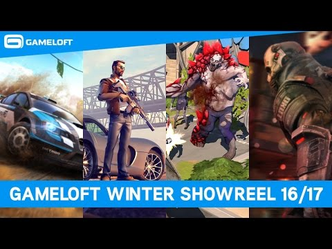 Gameloft Winter 2016/17 Blockbuster Showreel