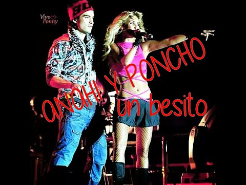 Anahi Y Poncho Beso Real Youtube