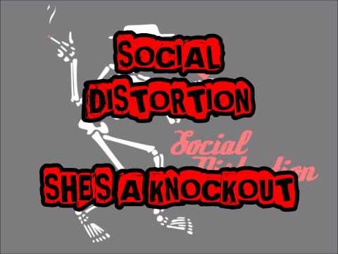 SOCIAL DISTORTION - She's A Knockout (With Lyrics)