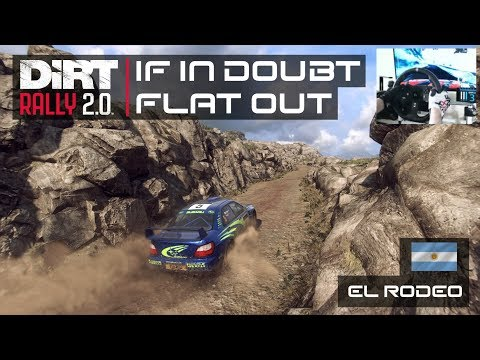 IF IN DOUBT FLAT OUT | Subaru Impreza WRC 2001 | 2nd Place | Argentina | DiRT Rally 2.0