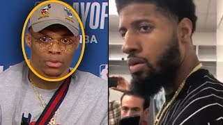 "Paul George Calls Out Russell Westbrook""I SEE WHY KD LEFT"" & Westbrook CONFRONTS GEORGE"