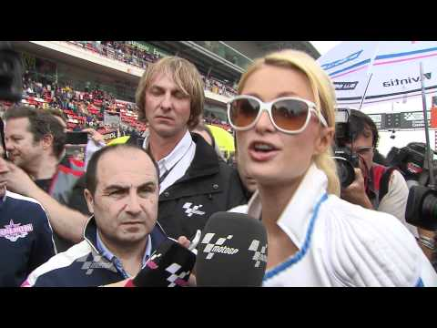 MotoGP Round 5 - Interview with Paris Hilton at the Gran Premi Aperol de Catalunya Travel Video