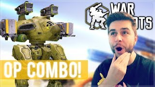OMG! THIS WEAPON COMBO DESTROYS ROBOTS IN SECONDS! War Robots