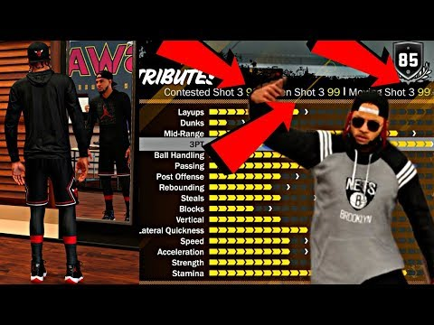 UPGRADING MY PURE SHARP INTO A POINT GOD! MY NEW JUMPSHOT & GLITCHY 99 3pt RATING - NBA 2K18 MyPark
