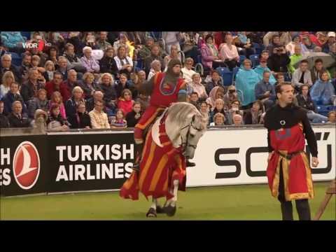 Swedish Knights CHIO Aachen 2016 opening cermony