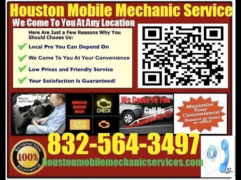Mobile Mechanic Texas City TX 832-564-3497 Auto Car Repair Service
