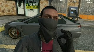 How To Remove Hat & Glasses On Bandana Mask (GTA Online Heist DLC