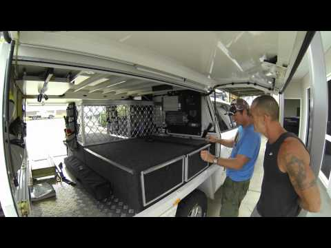 Landcruiser 200 Series Conversion: The Details ► All 4 Adventure TV
