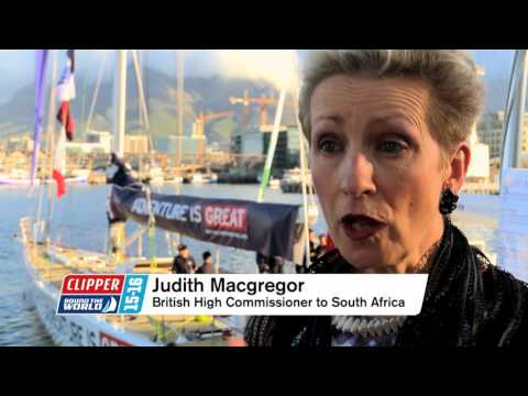 CLIPPER RACE MEANS BUSINESS IN CAPE TOWN