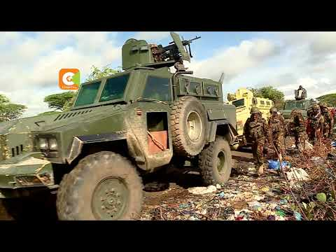 THE FRONTLINE | KDF continues to combat Al shabaab in Somalia