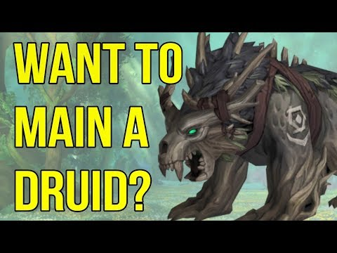 Druids Explained – 3 Features To Consider Before Playing One (2018) | WoW BfA | Class Guide