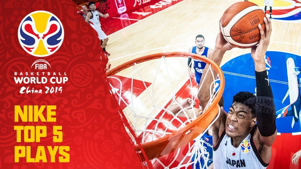Nike Top 5 Plays | Day 4 | ft. Hachimura, Bogut & More! | FIBA Basketball World Cup 2019