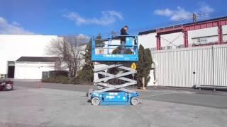 Genie GS-2046 Scissor Lift - Used Heavy Equipment for sale - Philadelphia, Pa