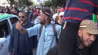 Algérie : 4ème manifestation contre Bouteflika (15 mars 2019, Alger, Algérie)