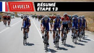Résumé - Étape 13 - La Vuelta 2017