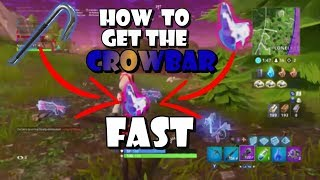Fortnite - How to get the Crowbar Challenges Done Fast/Easy