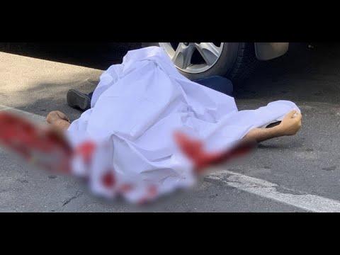 Убийство в центре Еревана 2 июня 2021 года - кадры с места