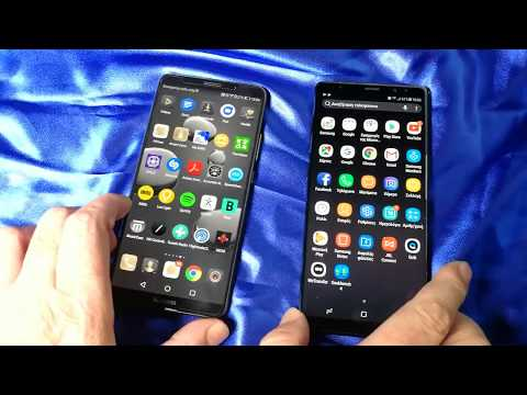 Samsung Galaxy Note 8 Vs Huawei Mate 10 Pro Benchmark test