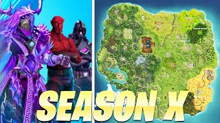 SEASON 10 UPDATE INFO! -Battle Pass & Mappi Innovations-Fortnite News