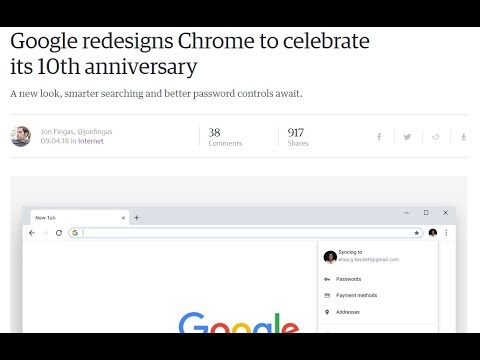 [Not working] Chrome Go Back To Old New Tab Layout And Search Bar (Google's  10th Anniversary 2018)